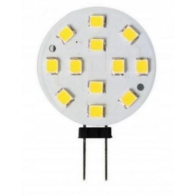 ECOLIGHT LED žárovka G4 - 2W - 180 lm - SMD - teplá bílá