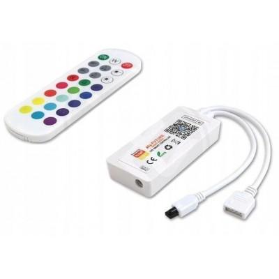 BERGE Ovladač pro RGBW LED pásky - Tuya - WiFi